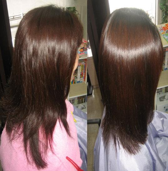 奈良 小学生ママ 美容室 縮毛矯正 エアコン