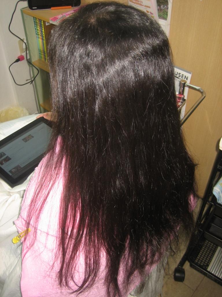 クセ毛 サラサラ ストパー 生駒 縮毛矯正 生駒市 髪質改善