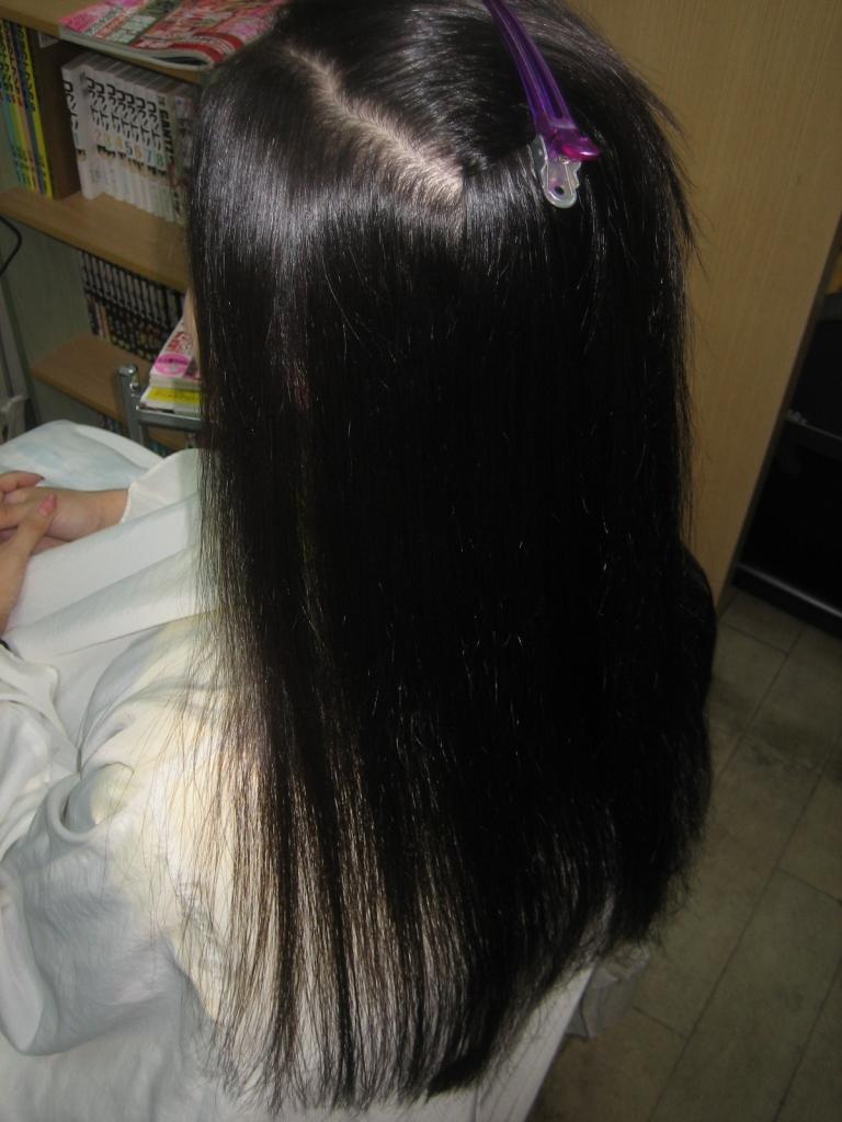 縮毛矯正 髪質改善 生駒市 学園前 奈良県 ストパー