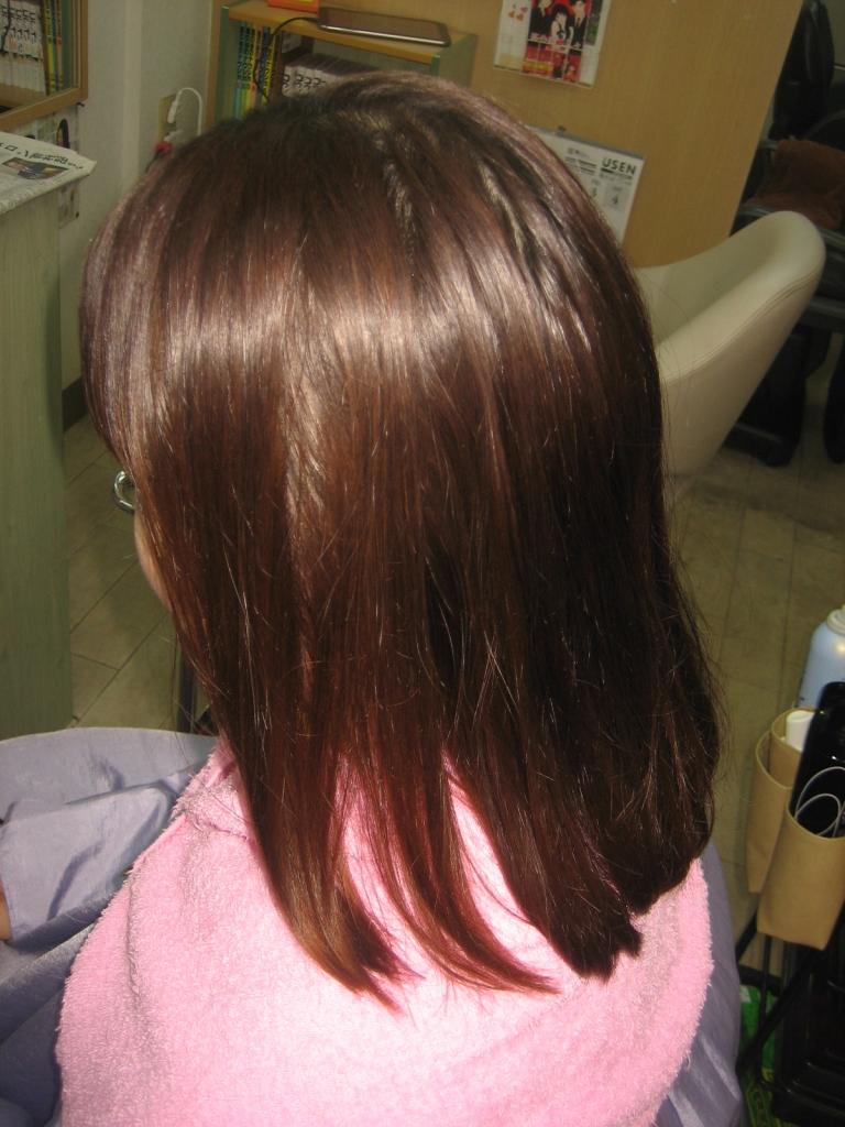 髪質改善生駒 縮毛矯正生駒市 美容室学園前 奈良市美容室 奈良県美容室