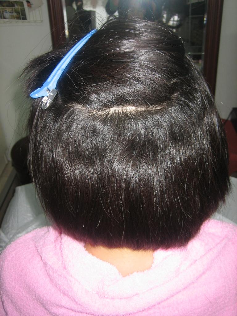 大和郡山市 美容室 筒井 縮毛矯正 平端 ストレートパーマ 髪質改善 九条