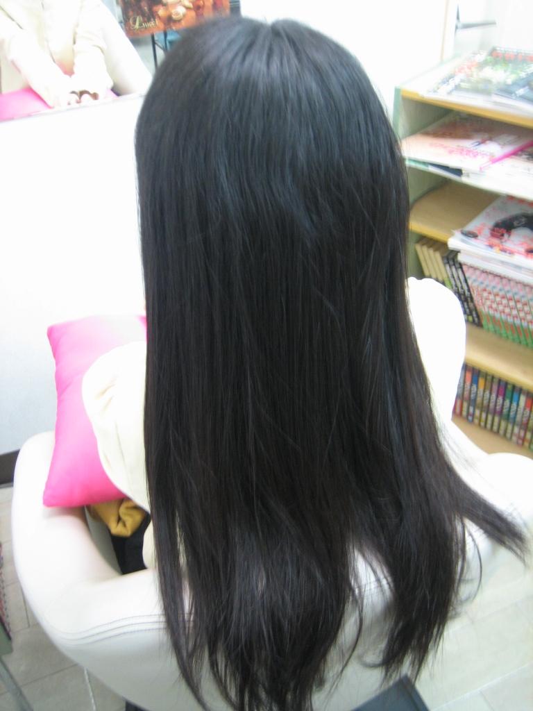 奈良市 学園前 美容室 縮毛矯正 北生駒 髪質改善 登美ヶ丘 ストレートパーマ