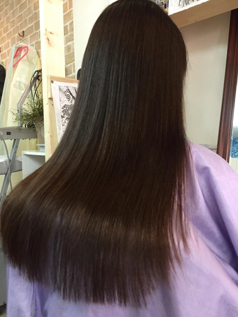 奈良県 美容室 縮毛矯正 学園前 髪質改善縮毛矯正 高の原 生駒 八木
