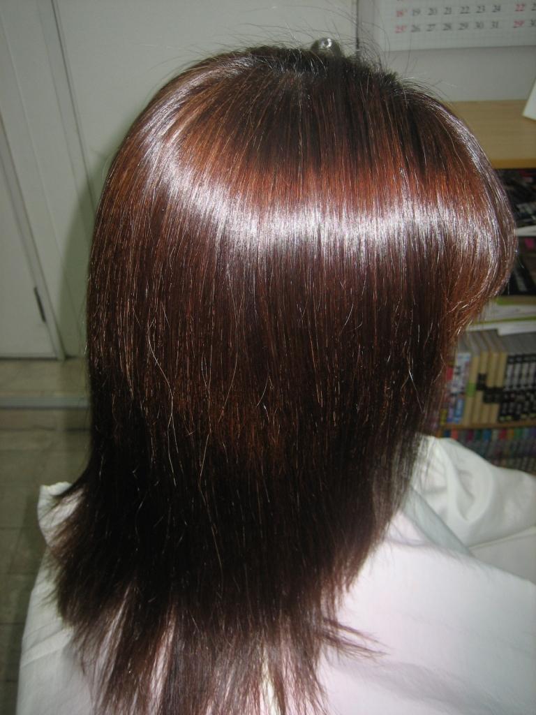 美容室 奈良市 縮毛矯正髪質改善 学園前 西大寺 高の原 生駒