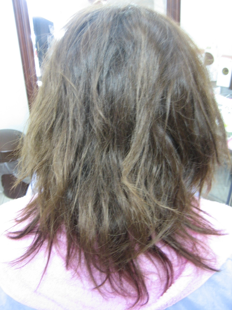 美容室の失敗 奈良県 西大寺 縮毛矯正の失敗 高の原 美容師の失敗 学園前