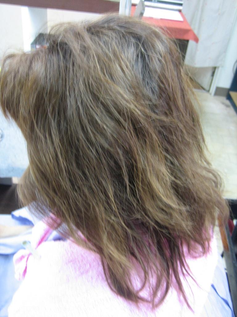 大和西大寺 美容室の失敗 奈良県 髪の量を減らしすぎ 美容院 カットの失敗 高の原 縮毛矯正の失敗 生駒