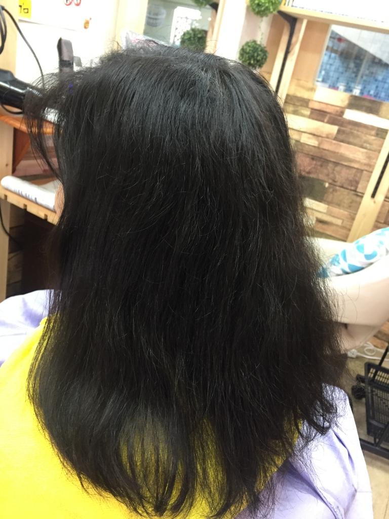 奈良市 美容室 縮毛矯正 西大寺 髪質改善 縮毛矯正