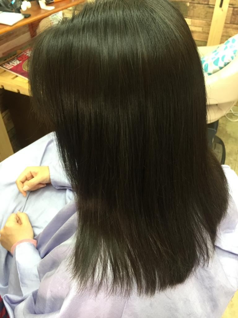 西大寺 初めての縮毛矯正 美容室 奈良ファ 美容院 ストレートパーマ うまい