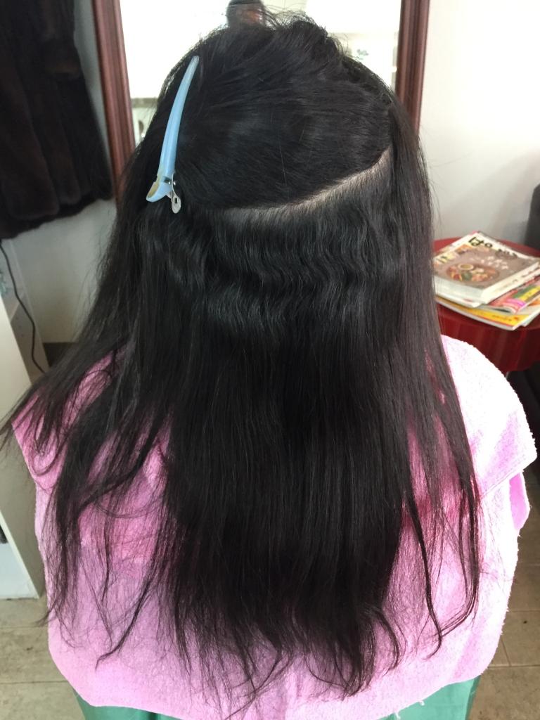 奈良県 美容室 学園前 縮毛矯正 細い髪の縮毛矯正 北生駒 髪質改善 白庭台