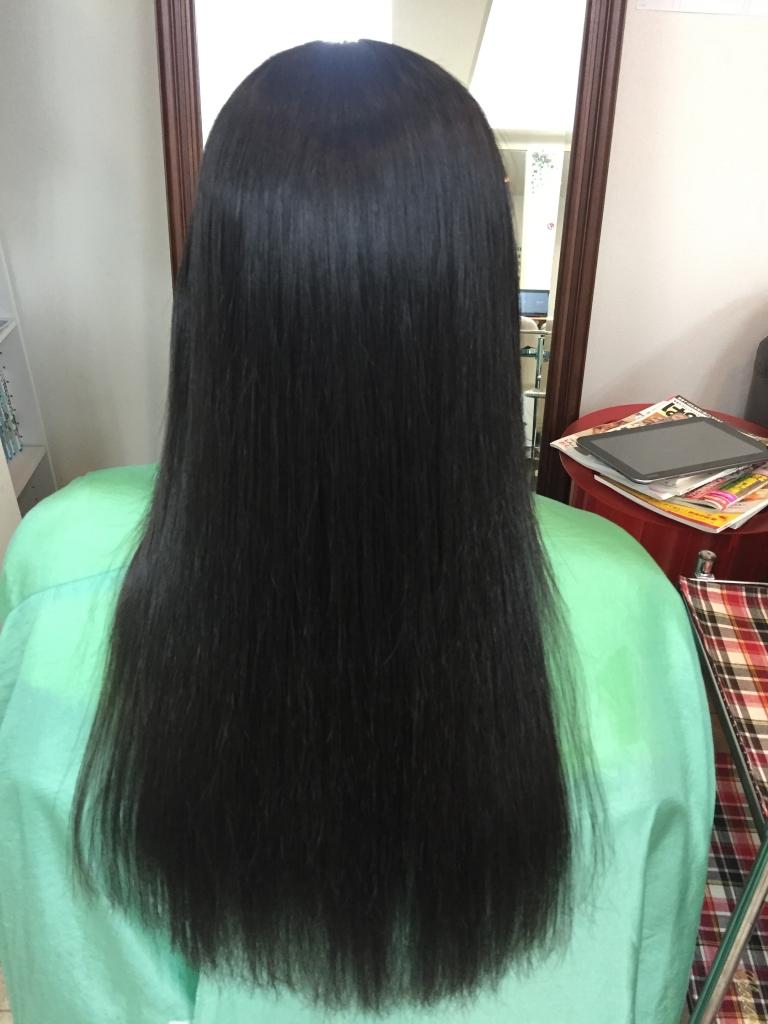 痛みやすい髪の縮毛矯正 学園前 美容室 髪質改善 西大寺 ストパー 生駒