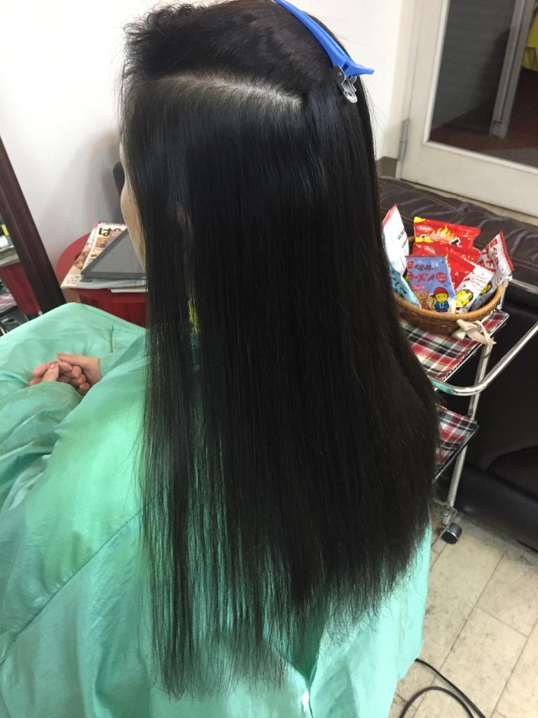 学園前 美容室 あすか野 縮毛矯正 生駒市 髪質改善 北生駒 真弓