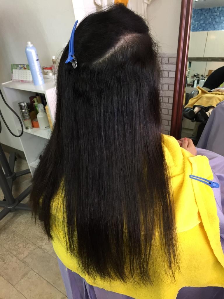 縮毛矯正して5ヵ月後 奈良 美容室 縮毛矯正専門店