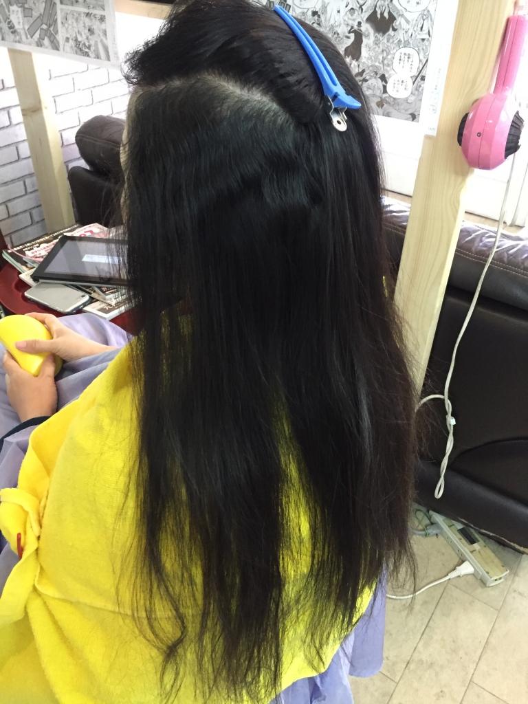 クセが強い髪の縮毛矯正 ダメージレス 痛まない縮毛矯正 奈良 学園前 生駒 西大寺 高の原 白庭台