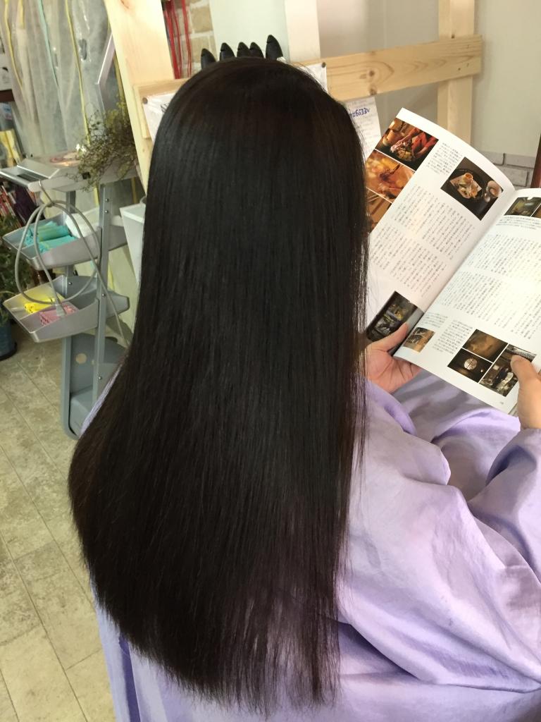 生駒市 縮毛矯正 美容室 白庭台 ストレートパーマ 痛みやすい トリートメント
