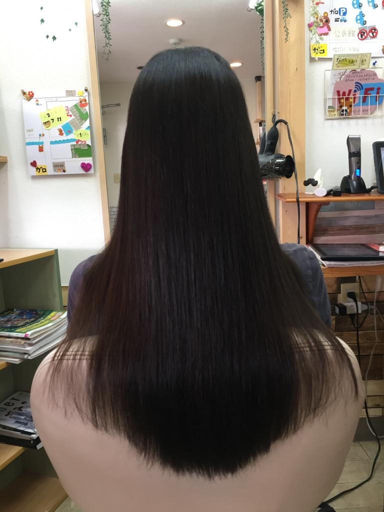 奈良県 美容室 学園前 縮毛矯正 白庭台 真弓 ストレートパーマ