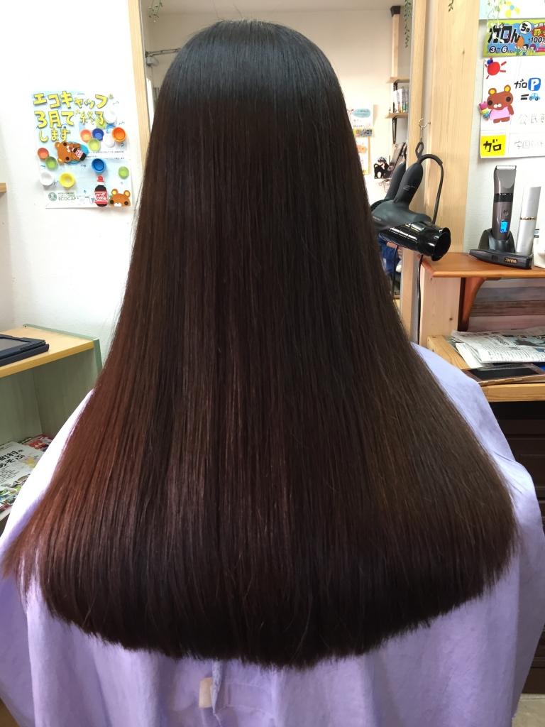 奈良 京都 縮毛矯正 委細大事 美容室 学園前 生駒市 縮毛矯正髪質改善