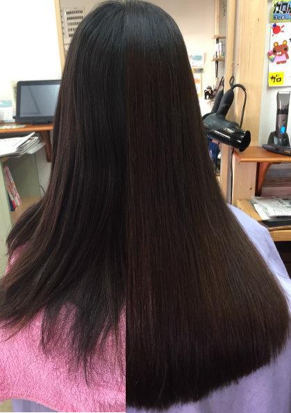 イメージチェンジ 縮毛矯正 奈良市 美容室 生駒市 縮毛矯正髪質改善 ストパー ストレートパーマ