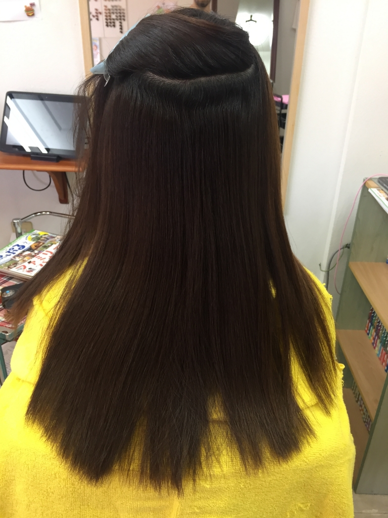 縮毛矯正の失敗を治します 美容室 西大寺 新大宮 美容室の失敗を治します 近鉄奈良 奈良 学園前 高の原