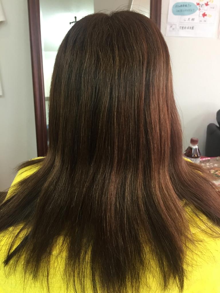 奈良市学園前 50代 40代のヘアスタイル 美容室 髪質改善