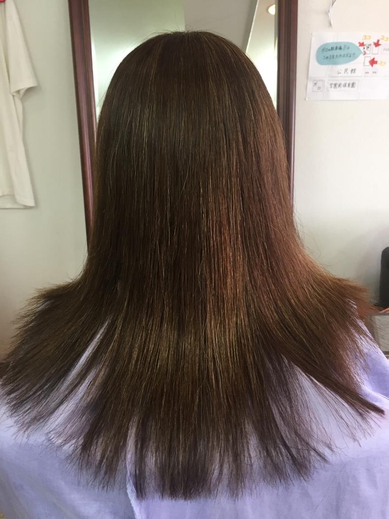 奈良縮毛矯正 50代縮毛矯正 髪質改善50代 西大寺 学園前 生駒 高の原