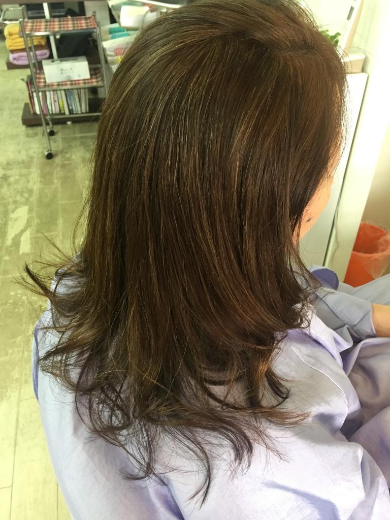 50代髪型 美容室奈良市 学園前 西大寺 生駒 高の原 奈良 美容室 縮毛矯正