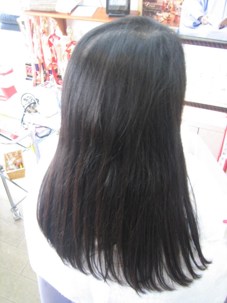 西大寺 美容室 奈良 縮毛矯正