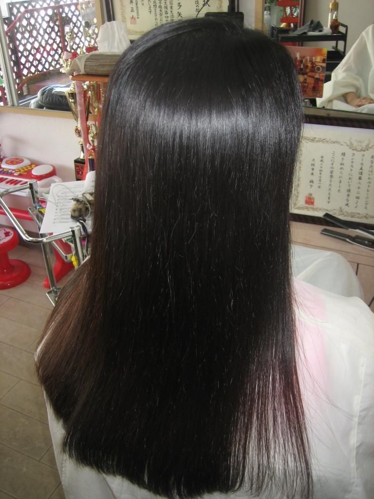 大和西大寺 美容室 西大寺 縮毛矯正 髪質改善