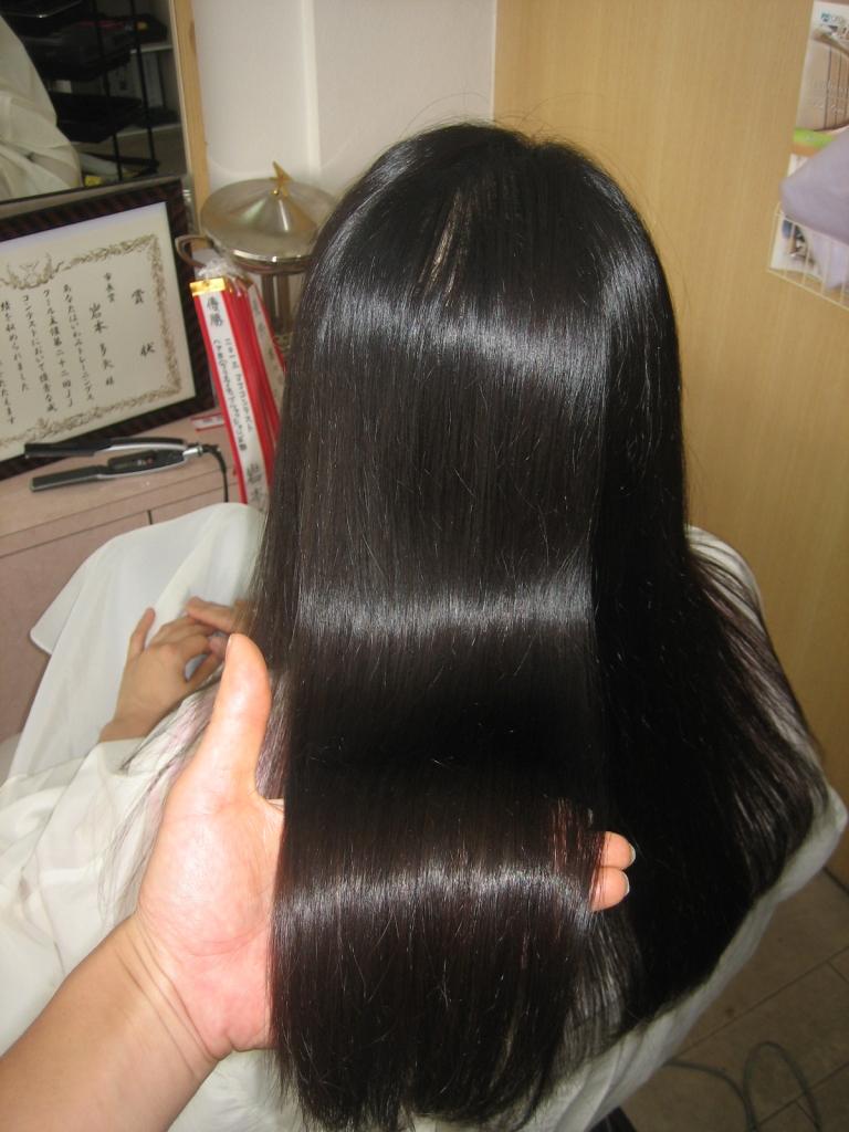 西大寺 美容室の失敗 大和西大寺 美容室 縮毛矯正 髪質改善