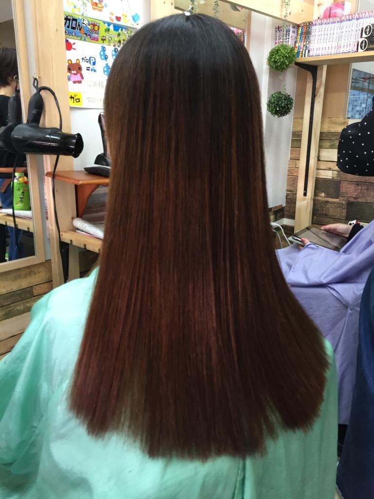 ジリジリ毛先 チリチリになる髪 縮毛矯正の失敗を治す 奈良 美容室
