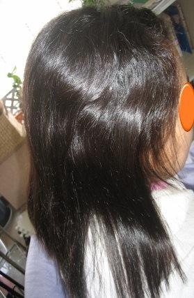 縮毛矯正 小学生のストレートパーマ 奈良 学園前 美容室
