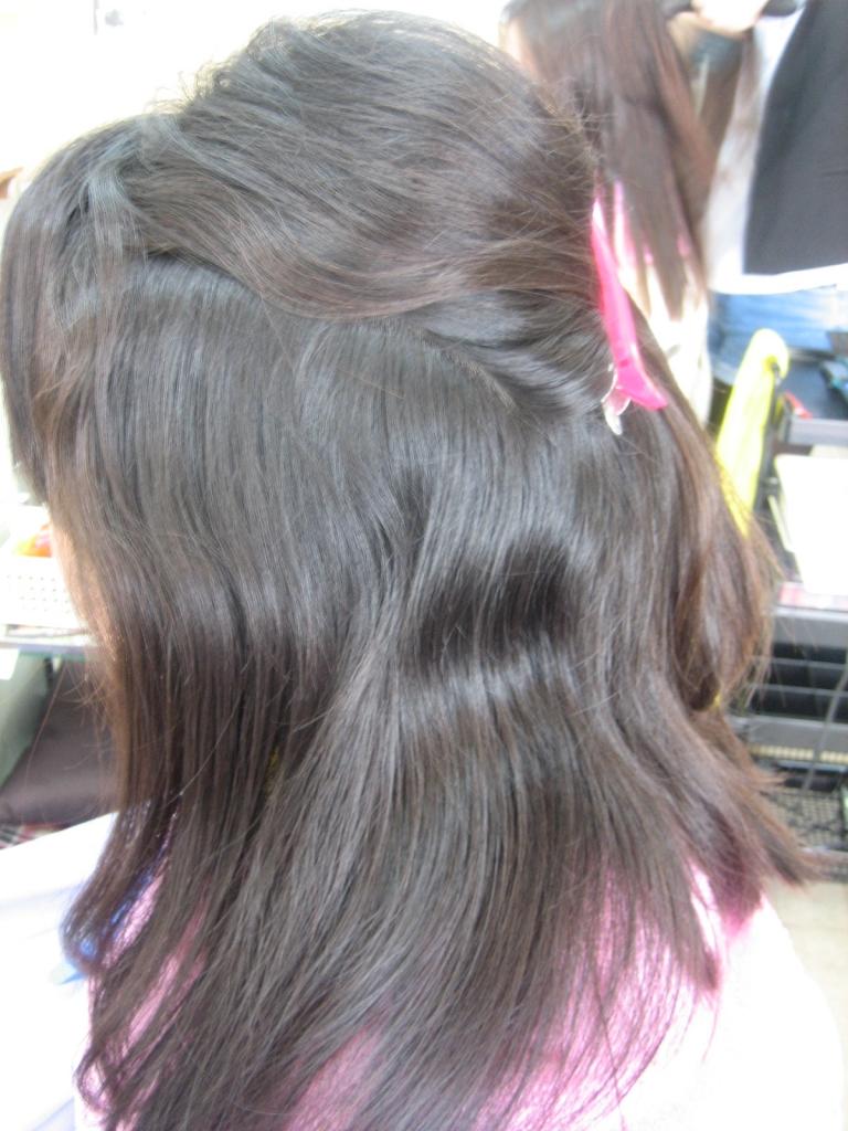 縮毛矯正がかからないとき 奈良市 髪質改善専門店 学園前