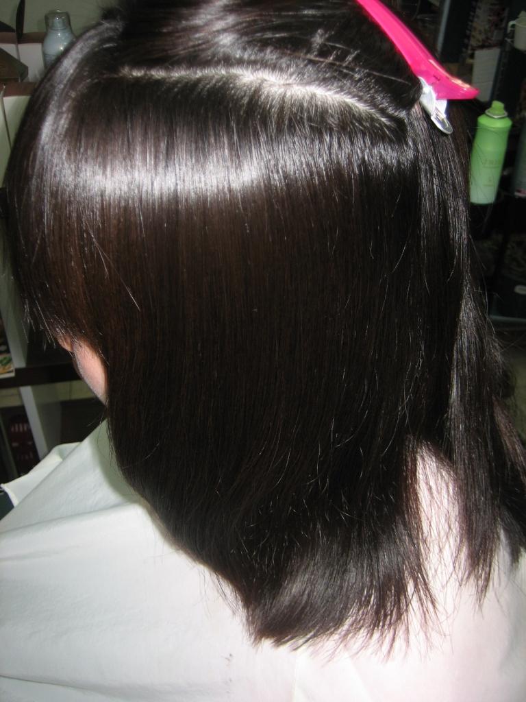 美容室 天理 髪の量だけ減らす 縮毛矯正 美容室の失敗