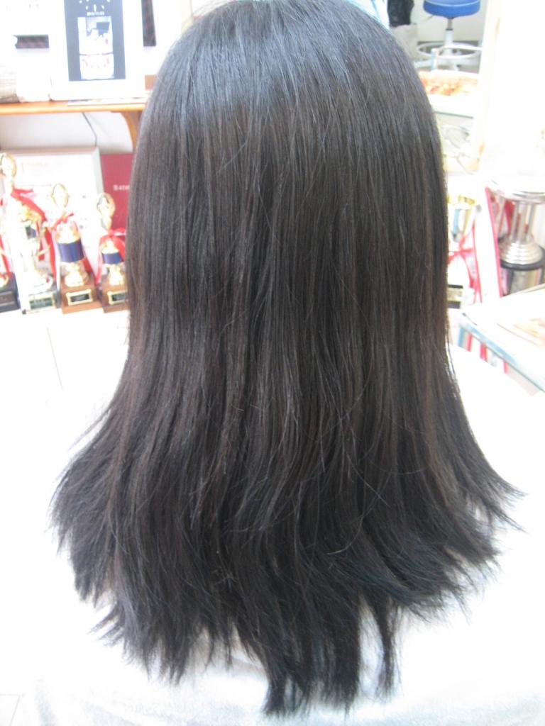 高の原 美容室 縮毛矯正がすぐ取れる 木津川市 州見台 梅美台 髪質改善