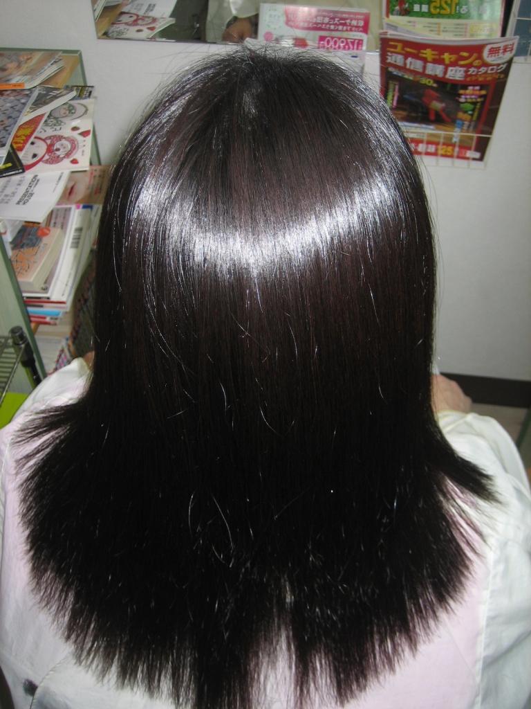 縮毛矯正 クセが強くて伸びない 新しいストレートパーマ 高の原 美容室 京都 奈良市
