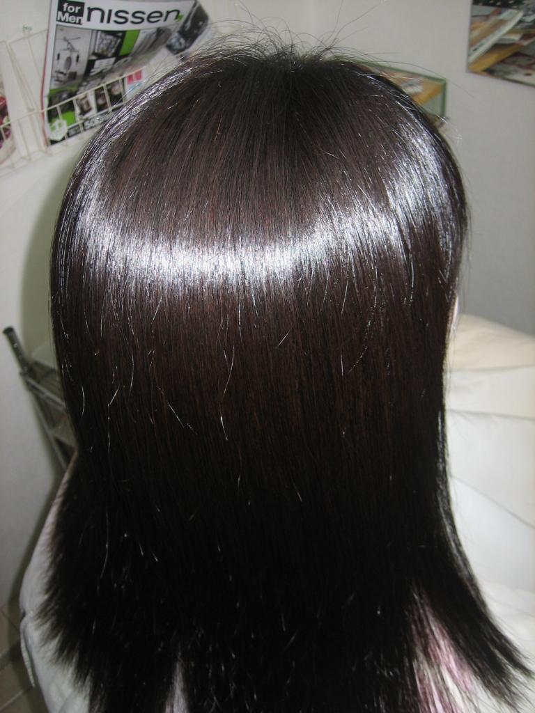縮毛矯正がもたない 奈良 美容室 ストレートすると髪が痛む 奈良県