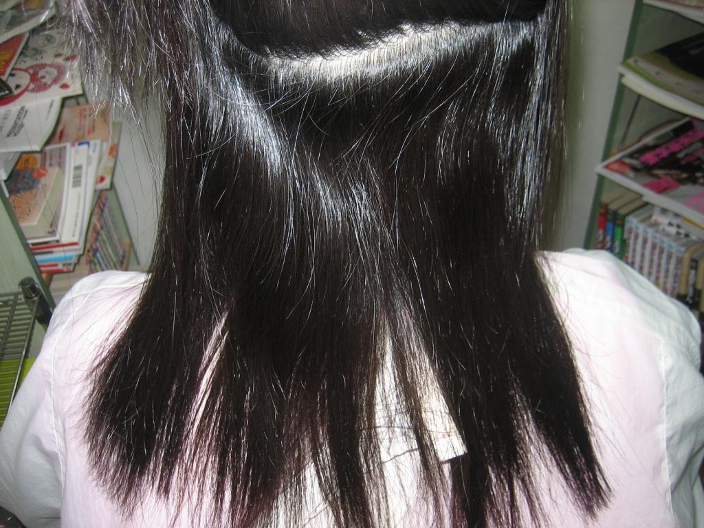 髪が痛まない縮毛矯正 奈良 京都 高の原 学園前