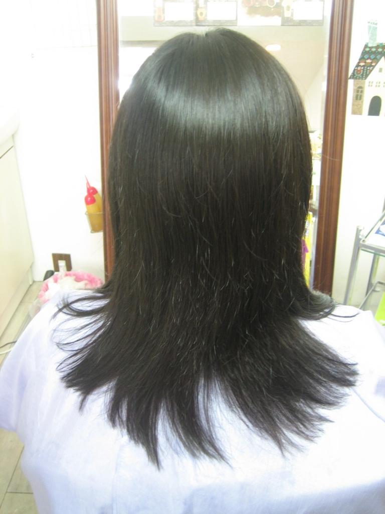 髪の匠 美容室 縮毛矯正 美髪 西大寺 艶髪 高の原 髪質改善