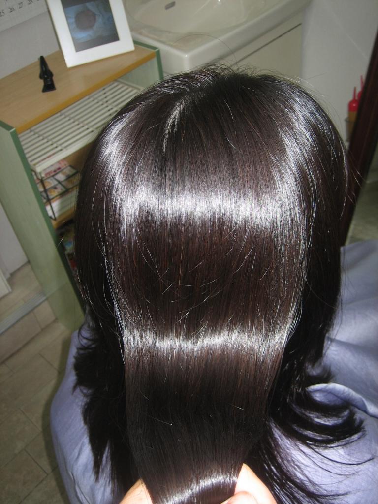 艶髪 学園前 高級美容室 縮毛矯正 50万円のトリートメント奈良 西大寺 高の原