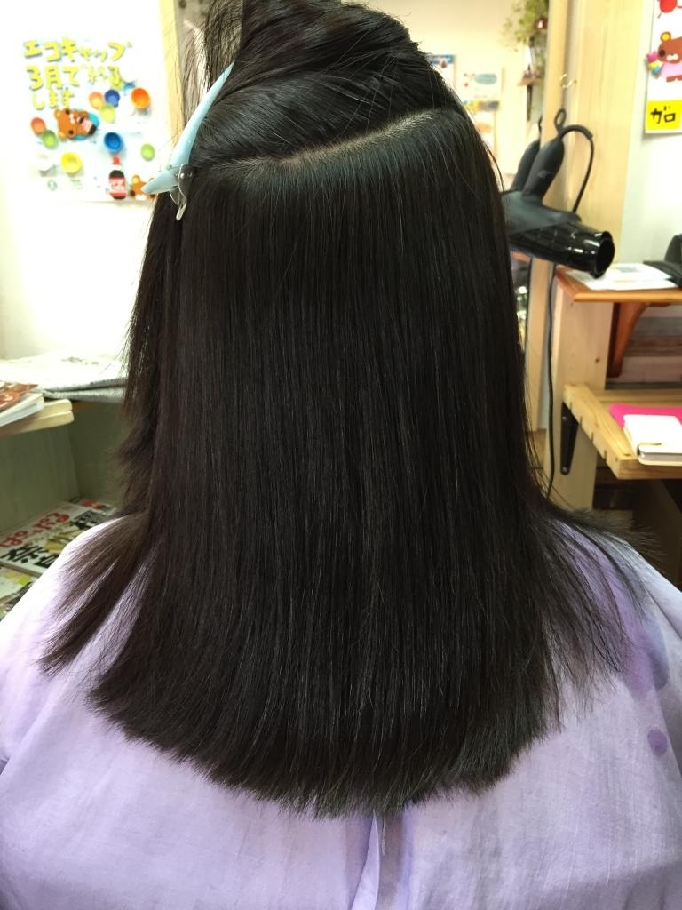 奈良県 美容室 学園前 ヘアサロン 西大寺 縮毛矯正 新大宮 40代の縮毛矯正 50代のストレートパーマ