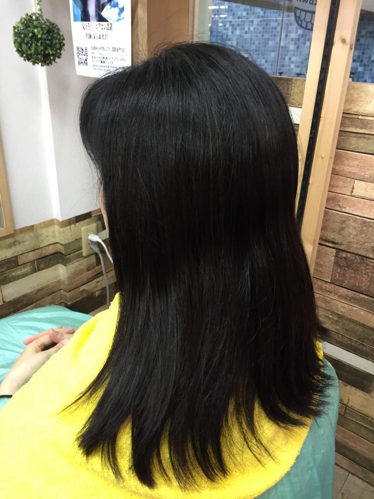 美容室の失敗 美容師の失敗 生駒 縮毛矯正で痛んだ髪 高の原 髪質改善 学園前