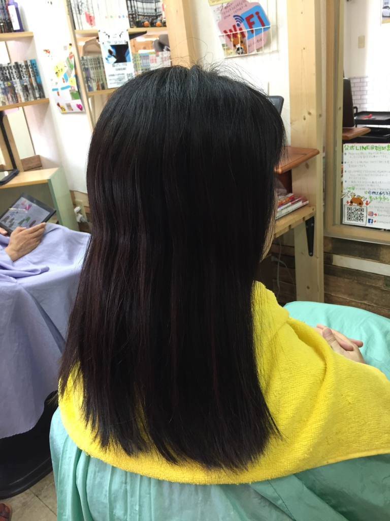 髪のお手入れがうまい美容室 奈良県奈良市 縮毛矯正が安い 髪質改善縮毛矯正