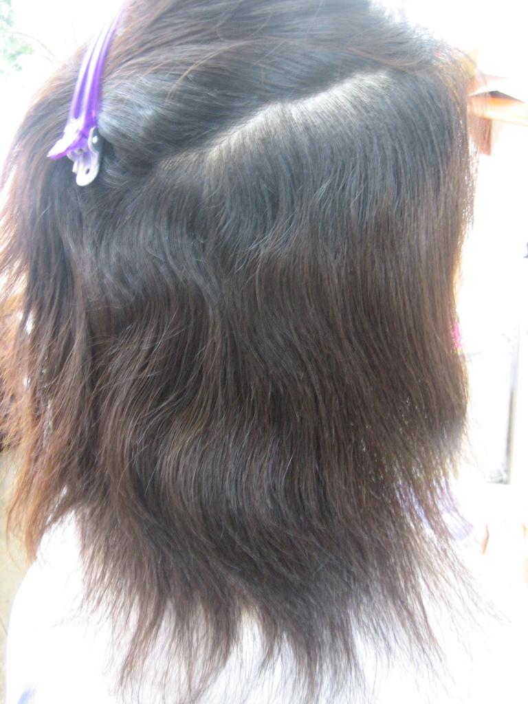 白髪染めと縮毛矯正を同じ日に出来る 奈良 生駒美容室 美容院で失敗 カット下手くそ 縮毛矯正 生駒駅