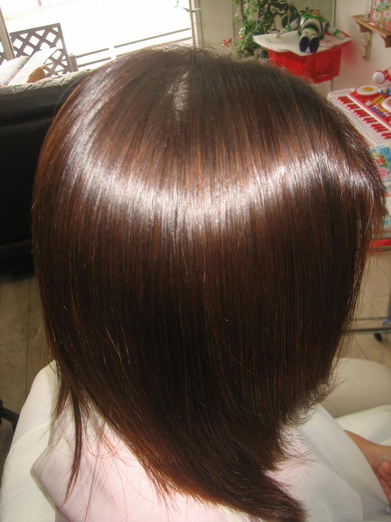 パーマと縮毛矯正 美容室 奈良 奈良市 学園前 美容室 西大寺 生駒