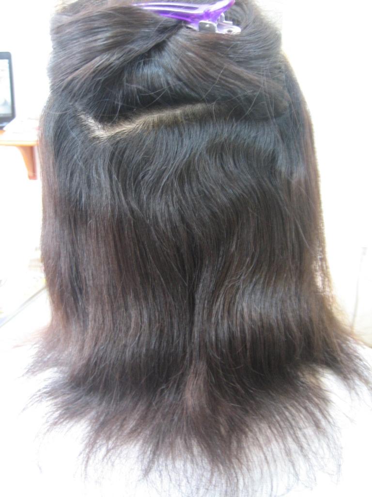 縮毛矯正 チリチリ ストレートパーマ 毛先ちりついた 治る?