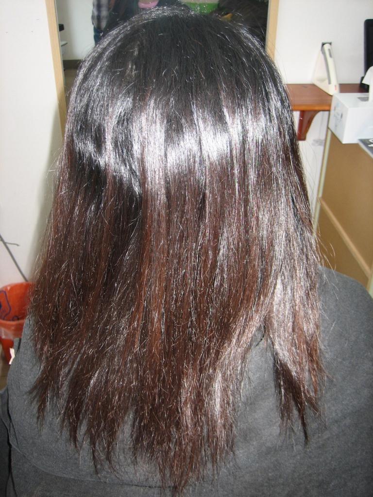 美容室の失敗 チリチリ ジリジリ毛先 ストパー ストレート 髪質改善 縮毛矯正