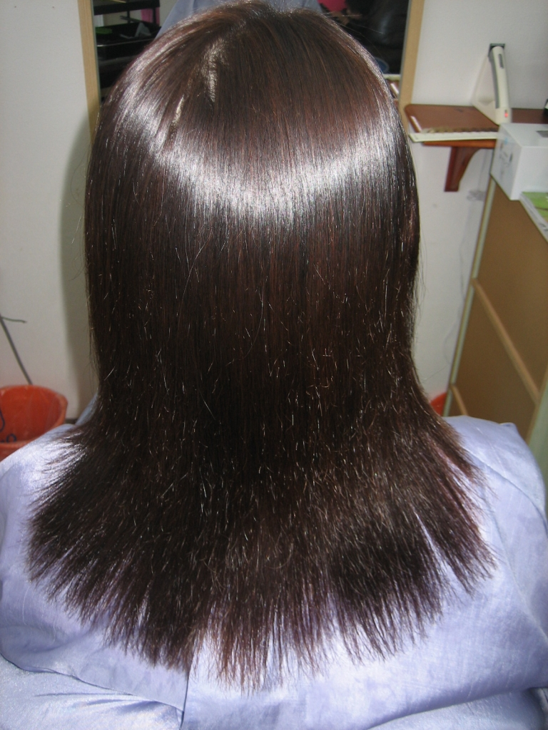 奈良 髪質改善 学園前 縮毛矯正 美容室 北生駒