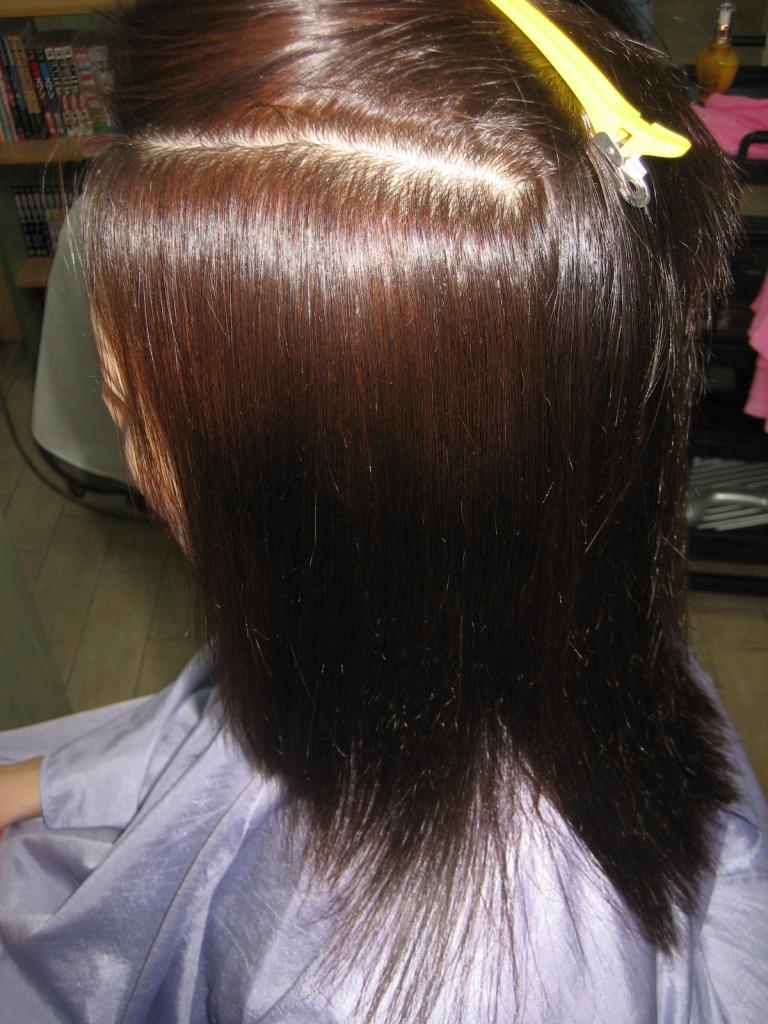 髪質改善 生駒 美容室 ストレートヘア 美髪 学園前 登美ヶ丘