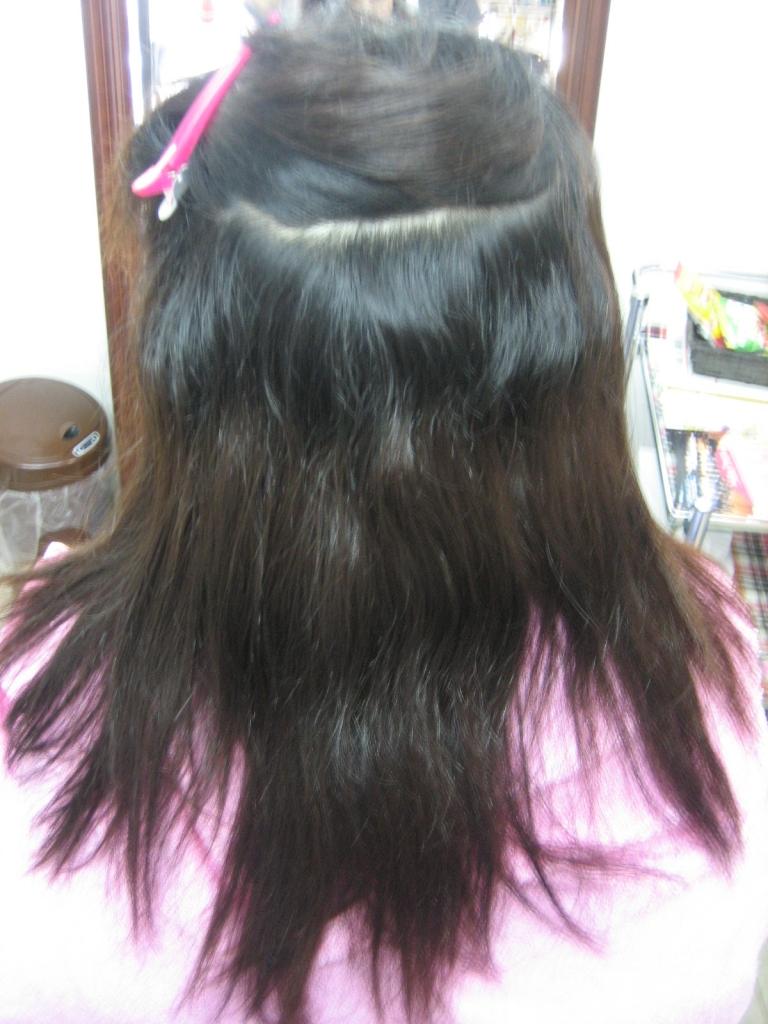 奈良市 美容室 西大寺 縮毛矯正 高の原 ストレートパーマ 生駒