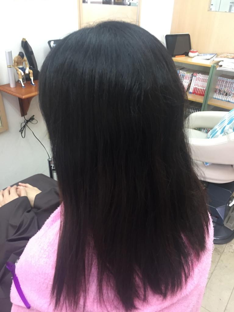 登美が丘 美容室 学園前 縮毛矯正 美髪