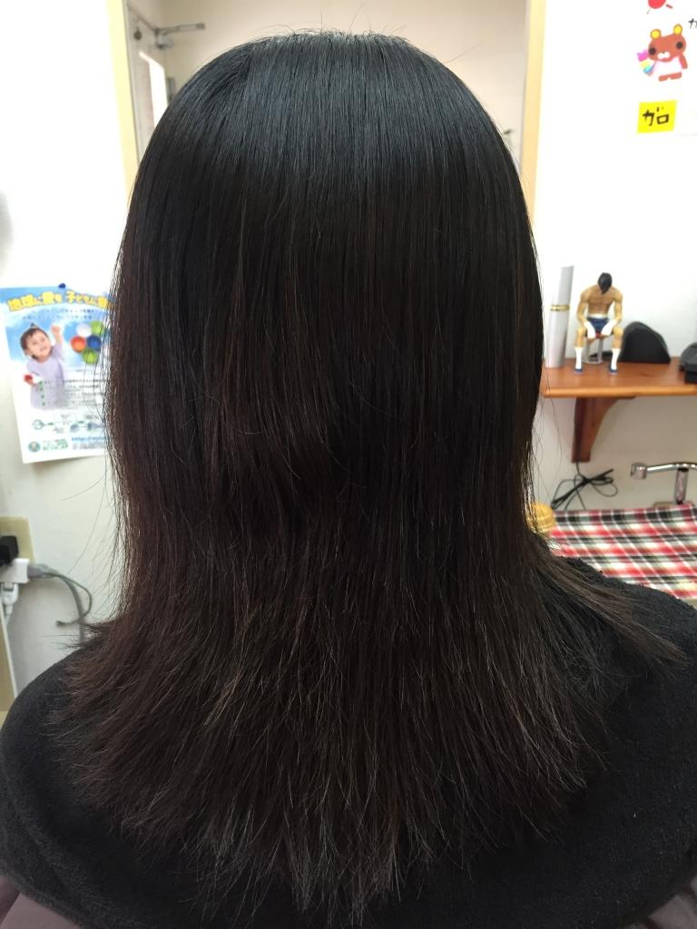 奈良市 美容室 学園前 縮毛矯正 痛まない ダメージしない
